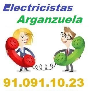 Telefono de la empresa electricistas Arganzuela